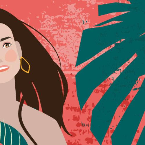 Demi Moore Portrait | Stefania Tomasich For CrunchyTales