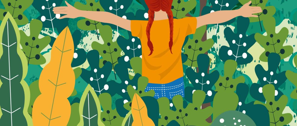 Foraging With Kids | For CrunchyTales.com By Stefania Tomasich