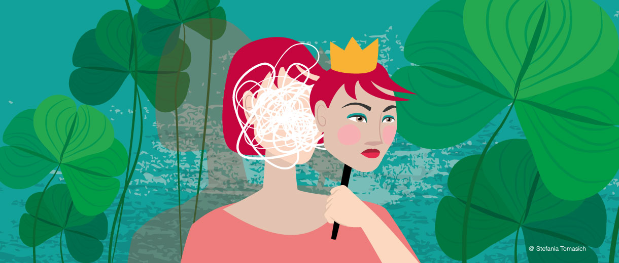 Imposter Syndrome | Illustration for CrunchyTales
