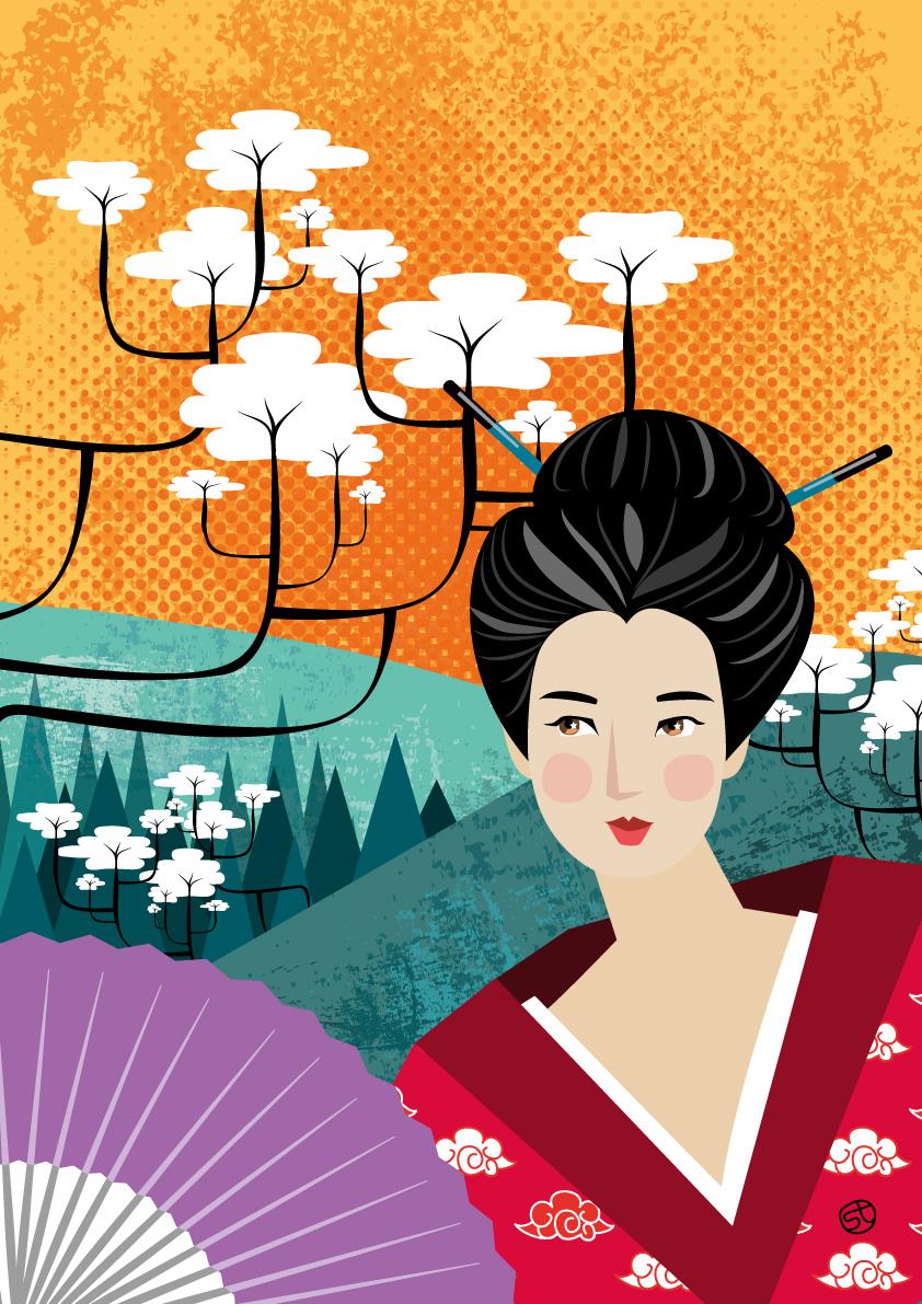 Japanese Girl | Stefania Tomasich