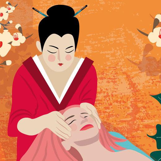 Japanise Kobibo Face Massage | Stefania Tomasich For CrunchyTales