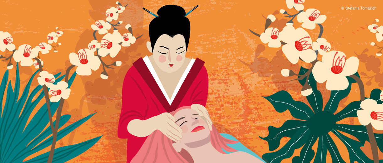 Japanise Kobibo Face Massage   Stefania Tomasich For CrunchyTales