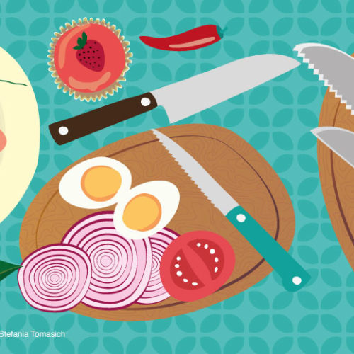 Essential Knives For Kitchen | Stefania Tomasich For CrunchyTales
