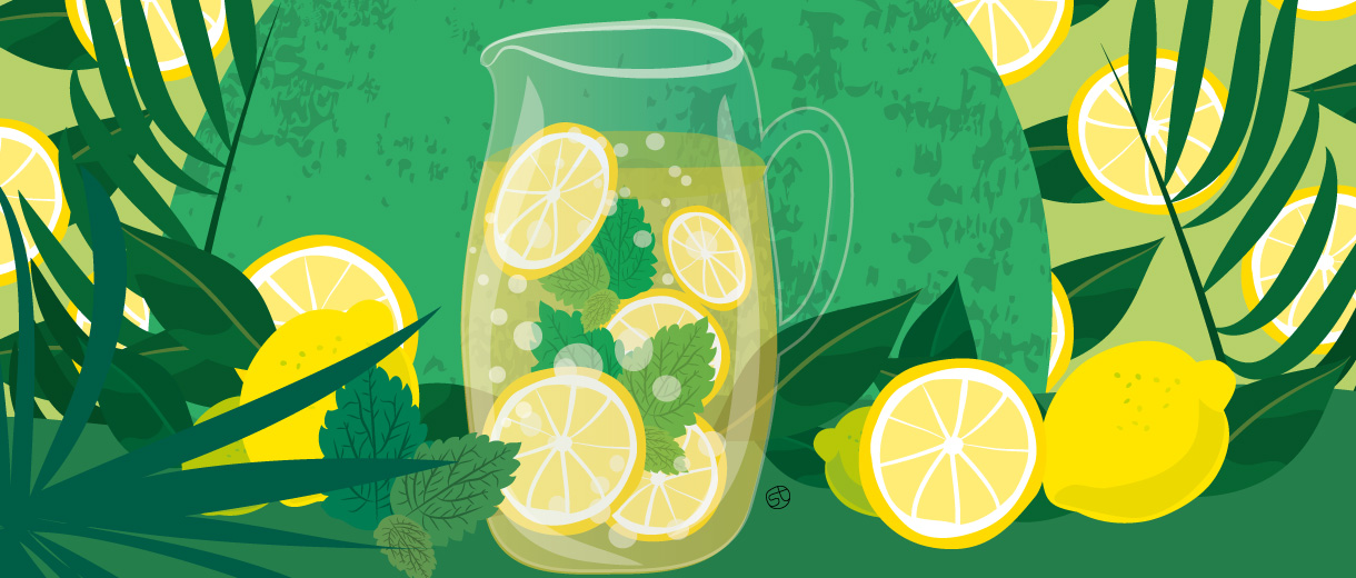 Lemonade recipe Illustration by Stefania Tomasich