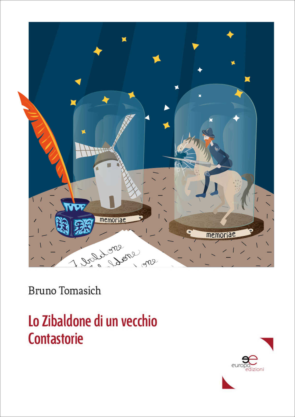 Lo Zibaldone Di Un Vecchio ContastorieTable For One | Cover For Bruno Tomasich