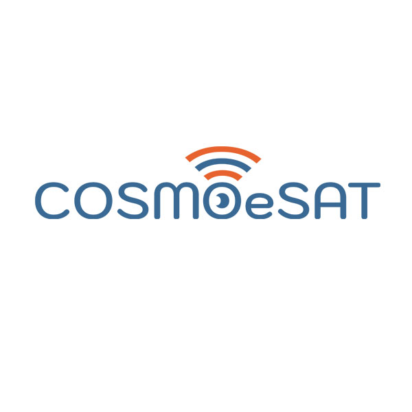 CosmoeSat Logo By Stefania Tomasich