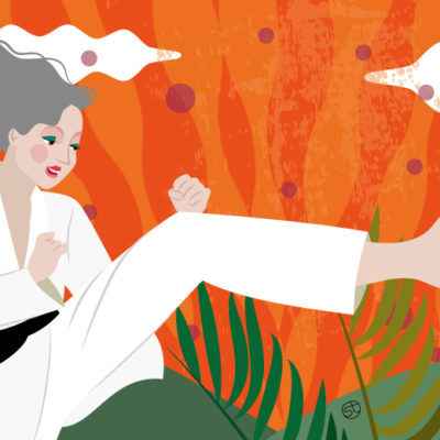 Martial Arts on Midlife | Stefania Tomasich for CrunchyTales