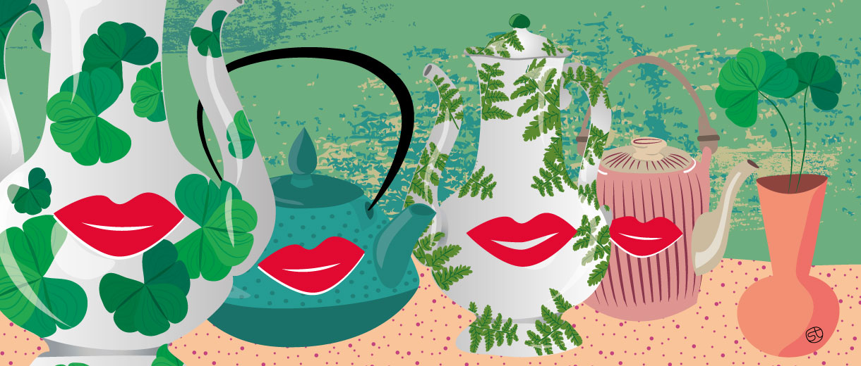 Menopause Tea | Stefania Tomasich for CrunchyTales