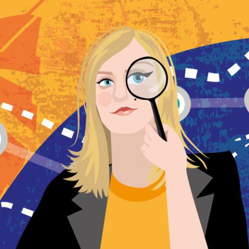 Nicole Wass Portrait | Stefania Tomasich For CrunchyTales