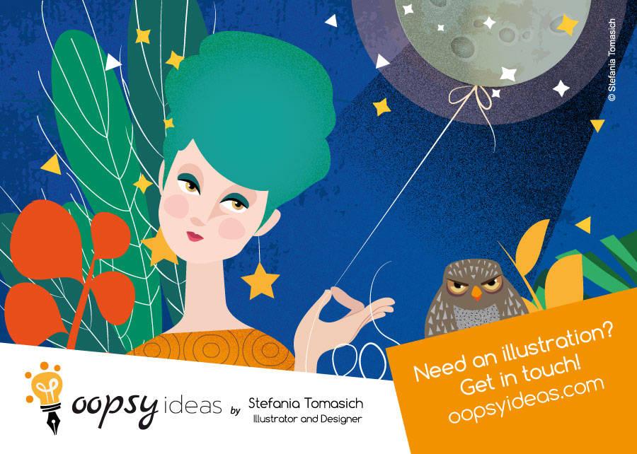 OopsyIdeas Printed Cards For Self Promotion