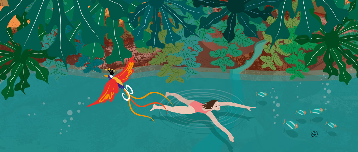 Wild Swimming | Stefania Tomasich For CrunchyTales