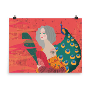 """Midlife Woman"" Enhanced Matte Paper Poster (in)"